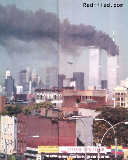 September 11, 2001 - 9:06AM Hijacked United flight 175 ...