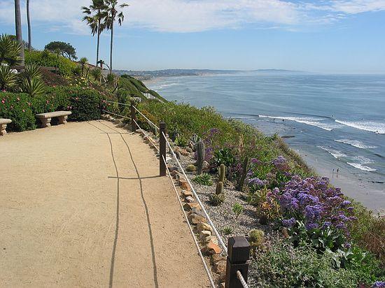 View Of Pacific Ocean Looking South Toward San Go Meditation Gardens Yogananda Self