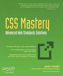 CSS Mastery: Advanced Web Standards Solutions, by Andy Budd