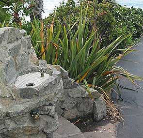 Water fountain, Laguna Beach