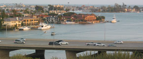 Newport Harbor | Viewed from Castaways Park, Newport Beach, California