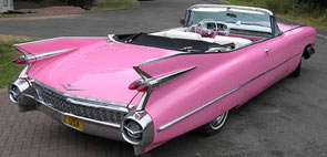Rad's Pink Cadillac