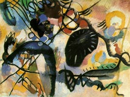 Kandinsky's Black Spot