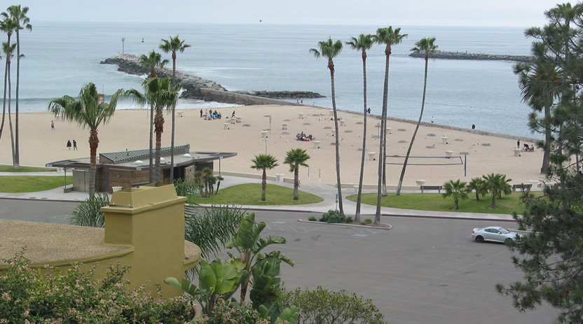 Main Beach Fire Rings Pits At Corona Del Mar Cdm Newport California