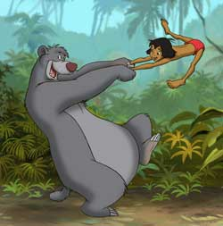 Baloo + Mowgli | Jungle Book is one of the Bug's favorite stories