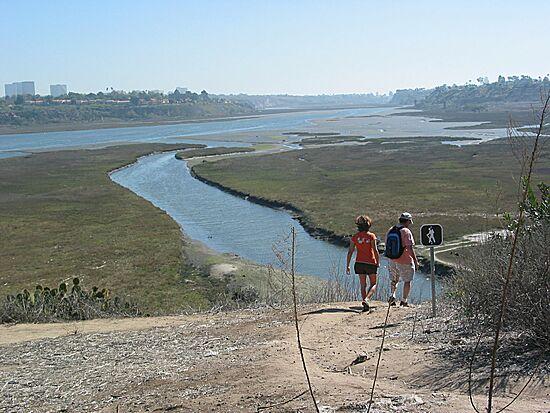 Hiking Trail At Newport Back Bay